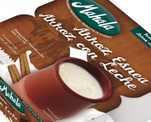 Diseño packaging arroz con leche