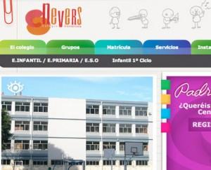 Diseño web colegio Durango