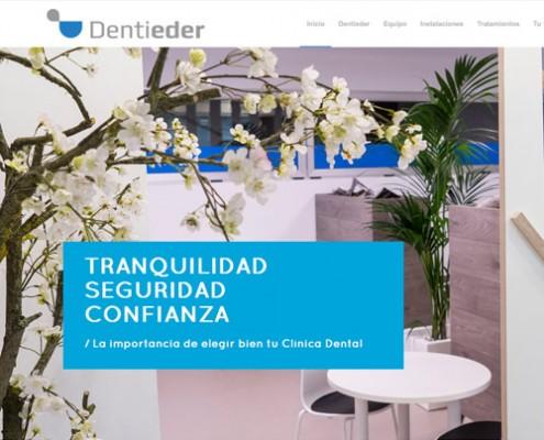 Diseño de página web Clínica dental Portugalete